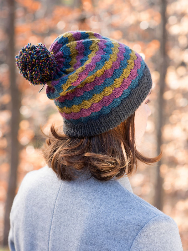 Adults colorful beanie hat Giedi. 3