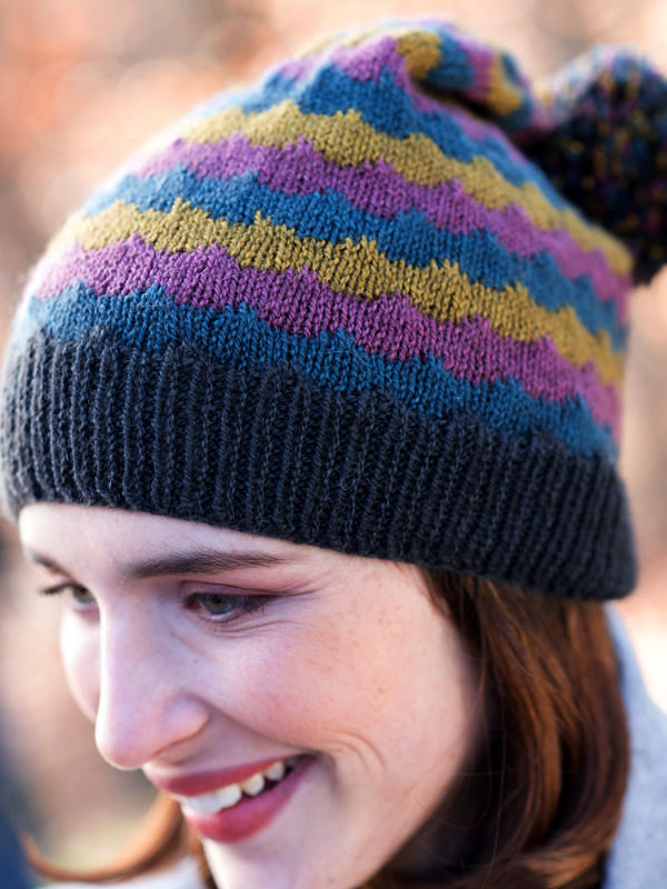 Adults colorful beanie hat Giedi. 4