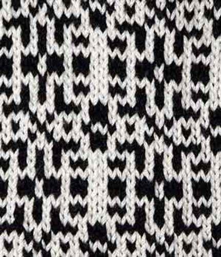 Cosmopolitan tote Puzzle Bag . Free knitting pattern. 2