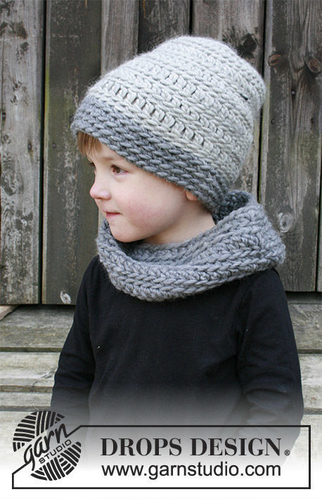 Girls and boys (toddler, children) crochet collar Crispin. Free pattern.