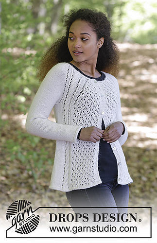 Girls And Womens Cardigan Winter Grace Jacket Free Knitting Pattern