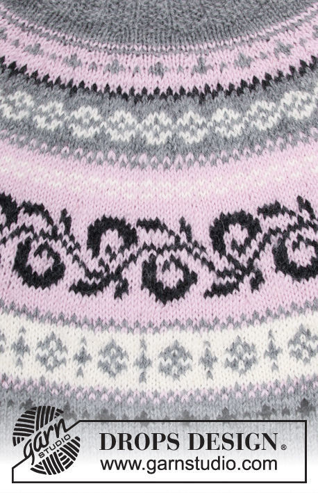 Girls Teen And Womens Pullover Telemark Free Knitting Pattern