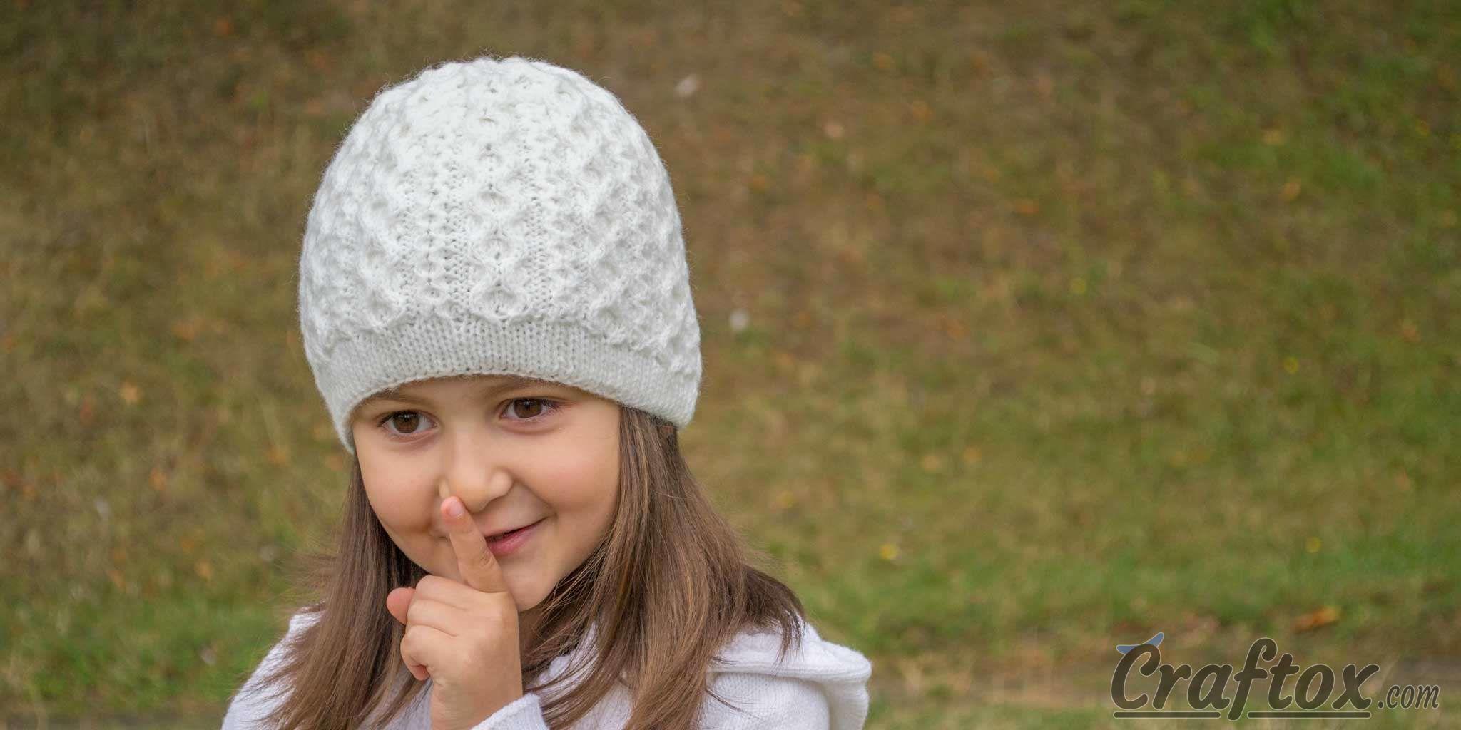Girls winter beanie.