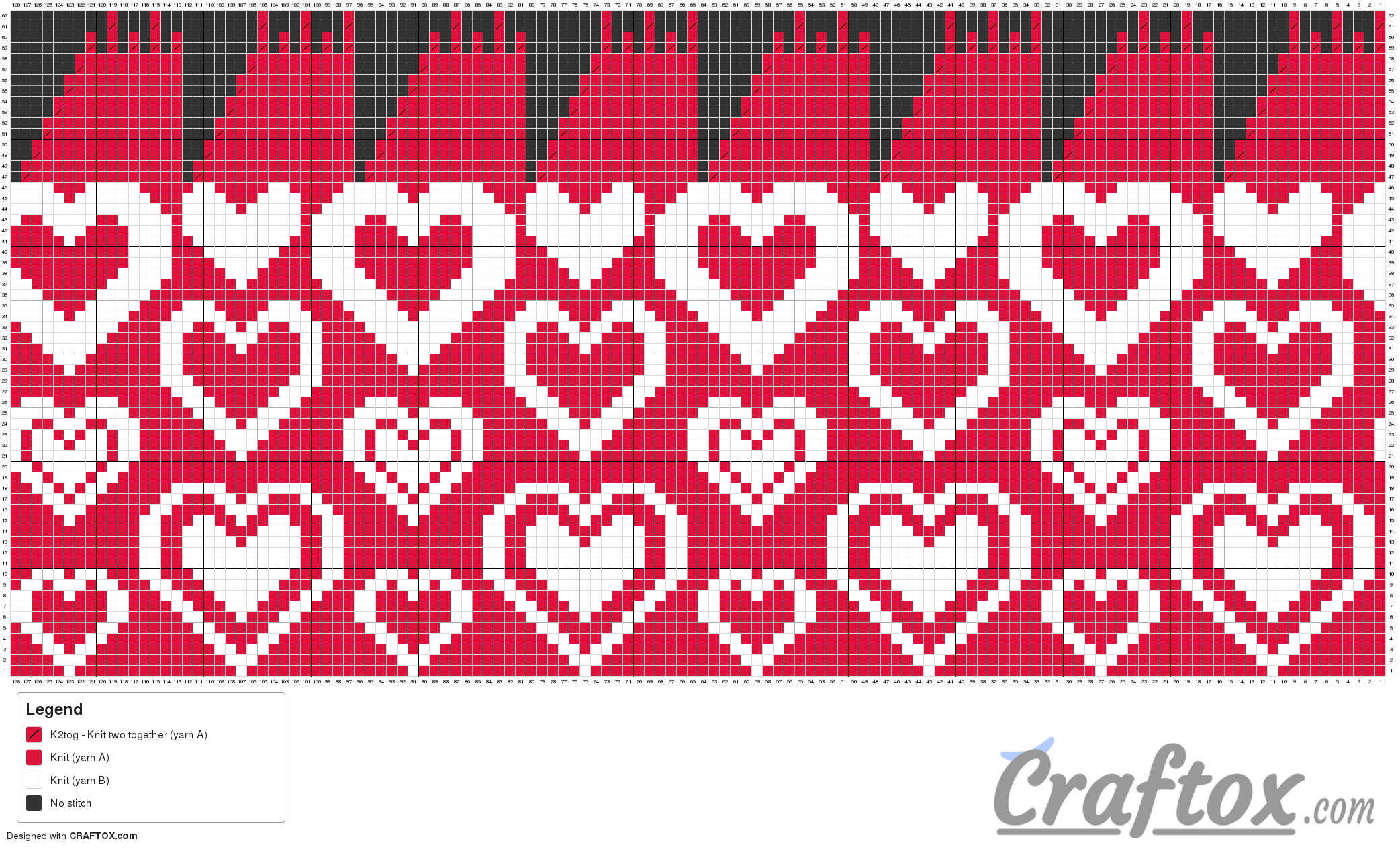 Heart hat romantic free knitting pattern chart pattern chart heart hat romantic free knitting pattern bankloansurffo Image collections