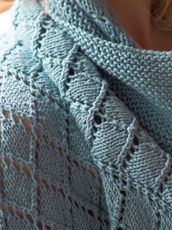 Knit blanket Cunningham. 3