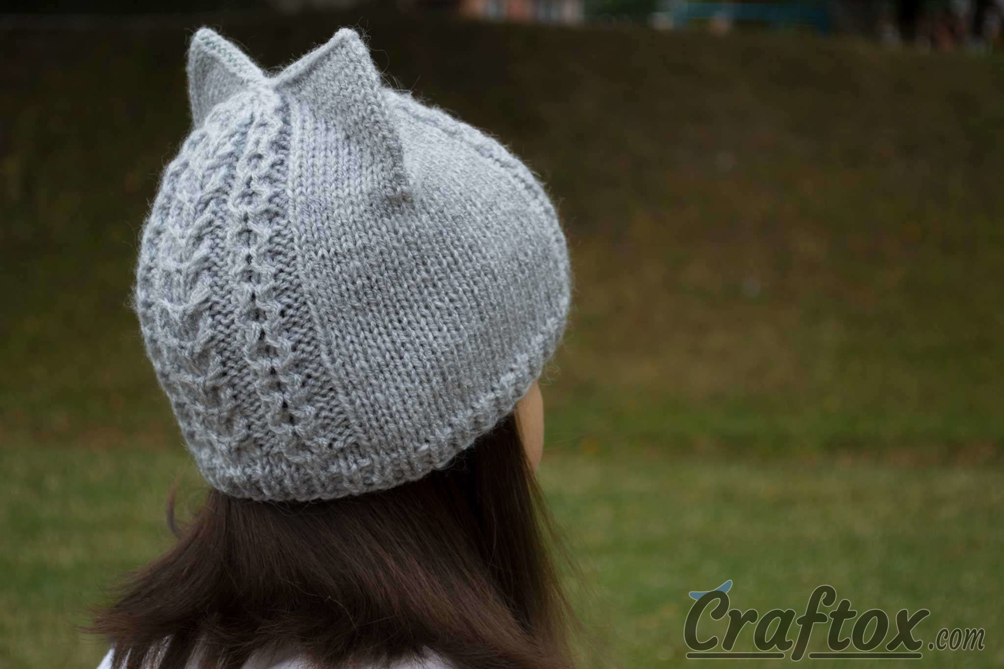 Knitting Patterns For Hats With Cat Ears