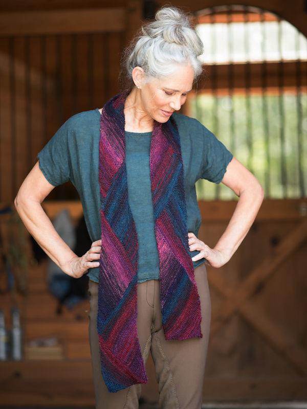 Knit scarf Dillwyn. 2