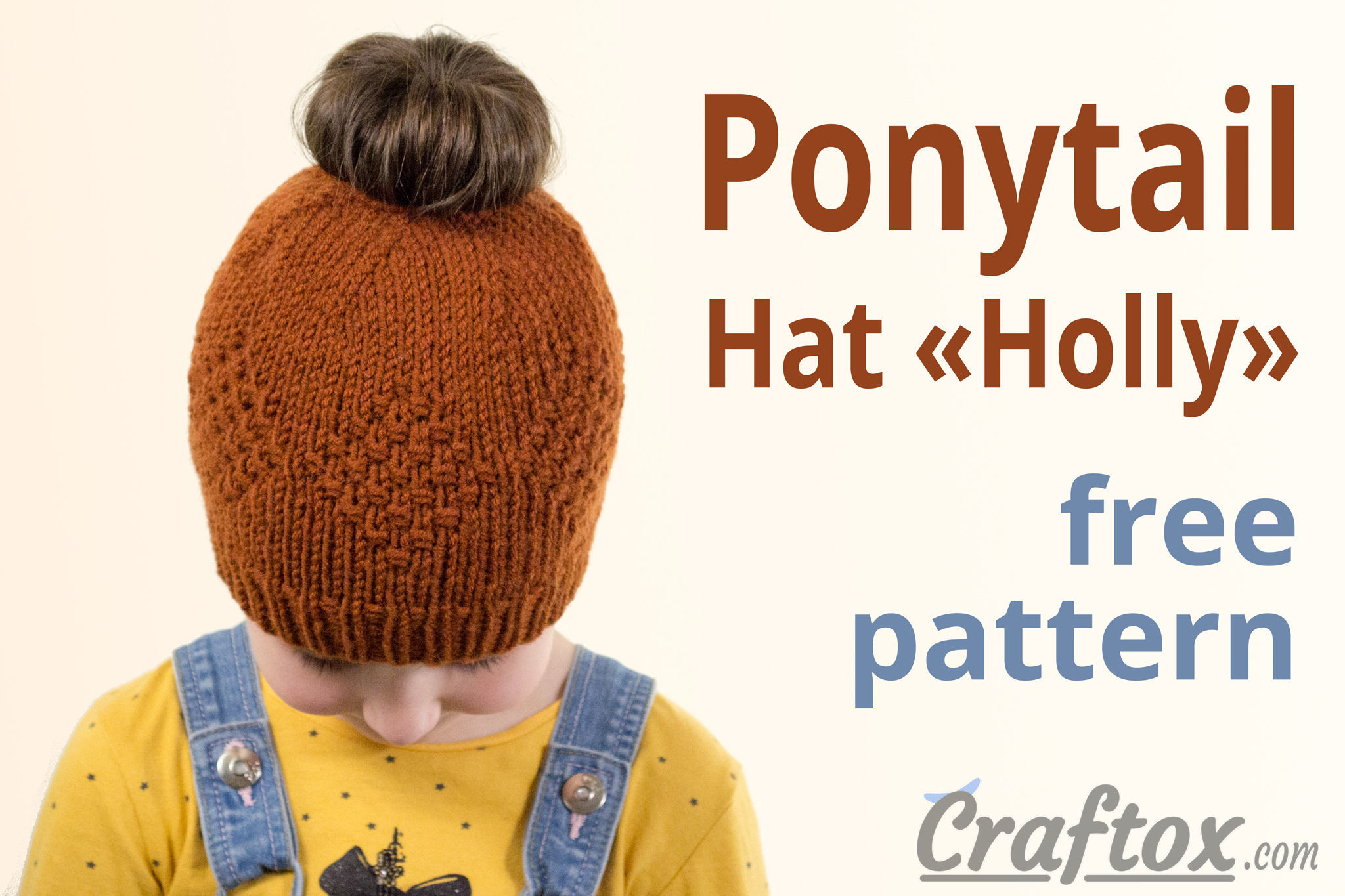 Ponytail hat \