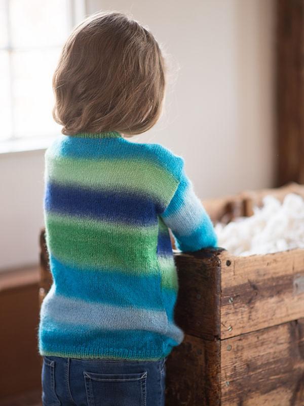 Unisex (children, baby) sweater Jesse. Free easy knitting ...