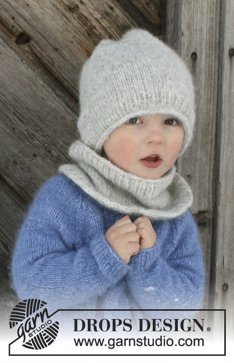 Unisex (children, toddler) collar Blaze. Free knitting pattern for beginners.