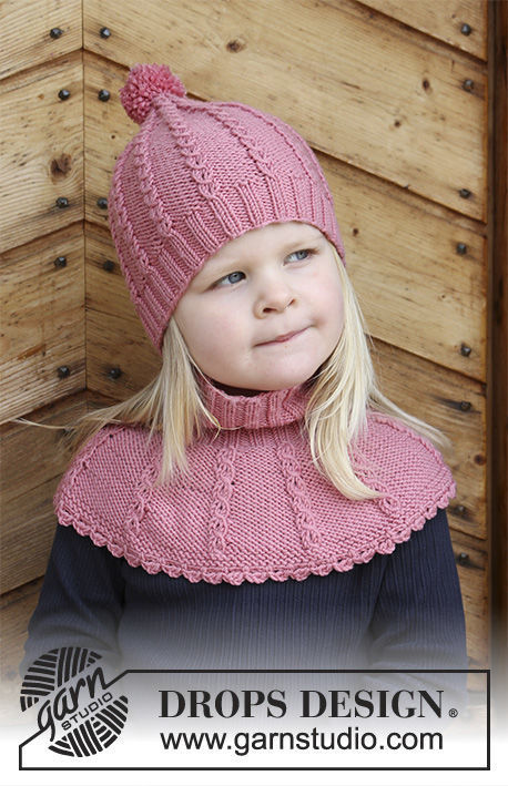 Unisex Children Toddler Knit Beanie Toque Lille Lisa Free Pattern