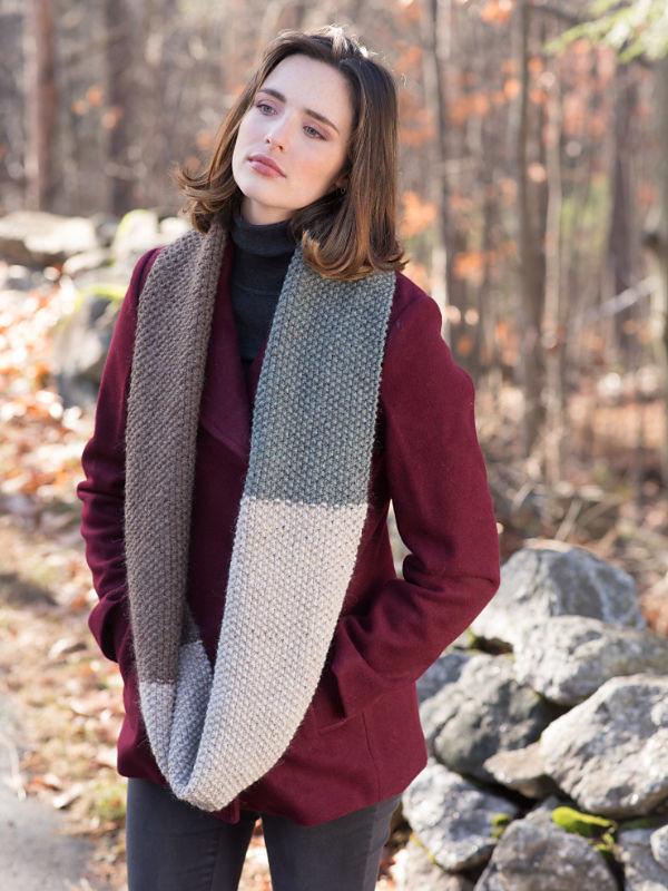 Unisex knit cowl Rosemary. 2