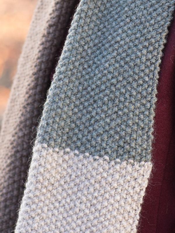 Unisex knit cowl Rosemary. 4
