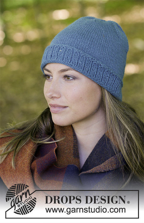 Unisex (teen, adult) knit beanie (toque) Tamineh. Free pattern.