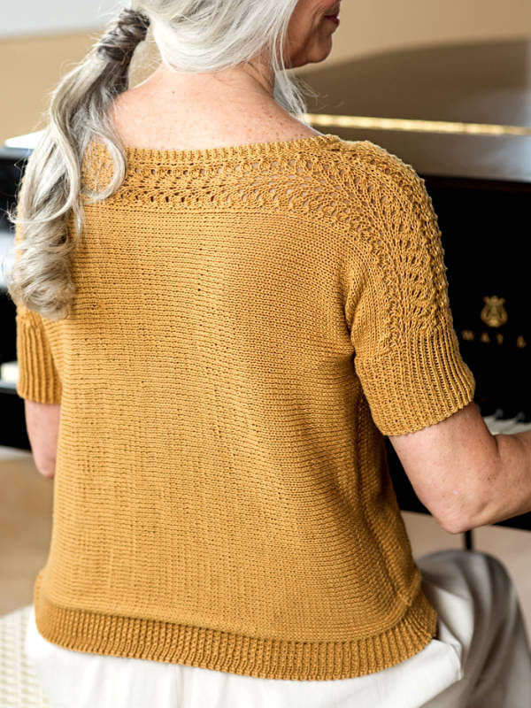 Women's and girls knit top Diane. 2