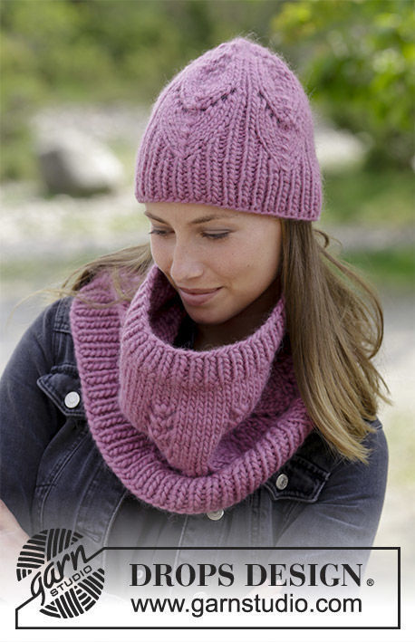 Women's and girls (teen) collar Fresh Autumn. Free knitting pattern.
