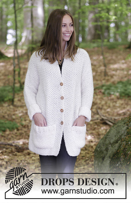 Women\'s and teen girls jacket Cordillera. Free knitting pattern ...