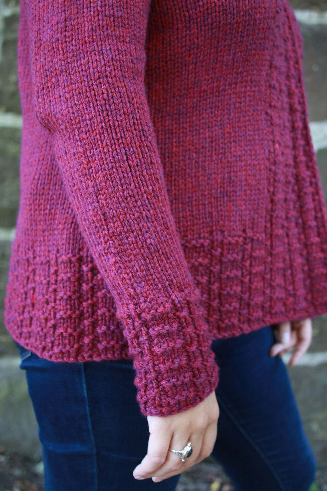 Women's knit cardigan Peverly. Free written pattern. 4