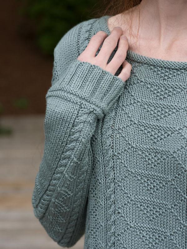 Women's knit pullover Carra. 3