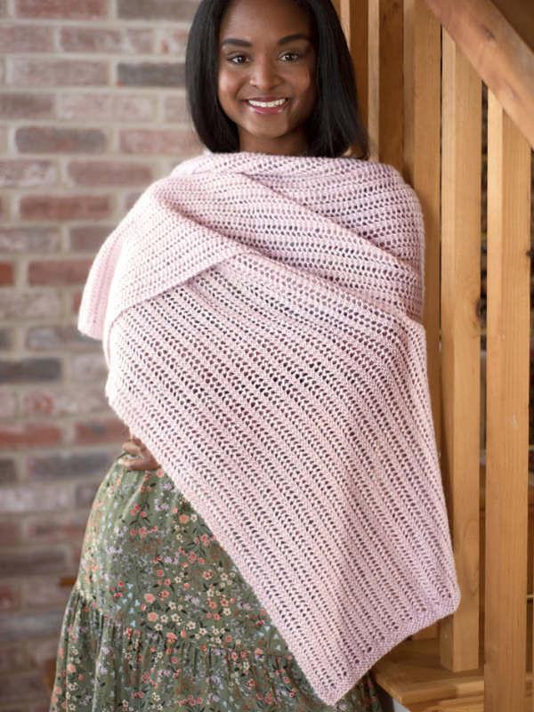Women's knit scarf Abbott. 1