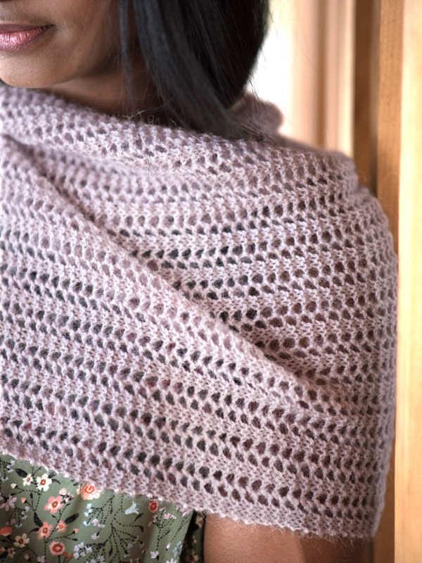 Women's knit scarf Abbott. 2