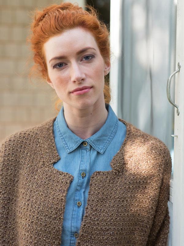 Women's textured jacket Ede. 2