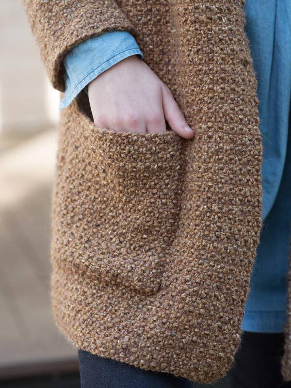 Women's textured jacket Ede. 3