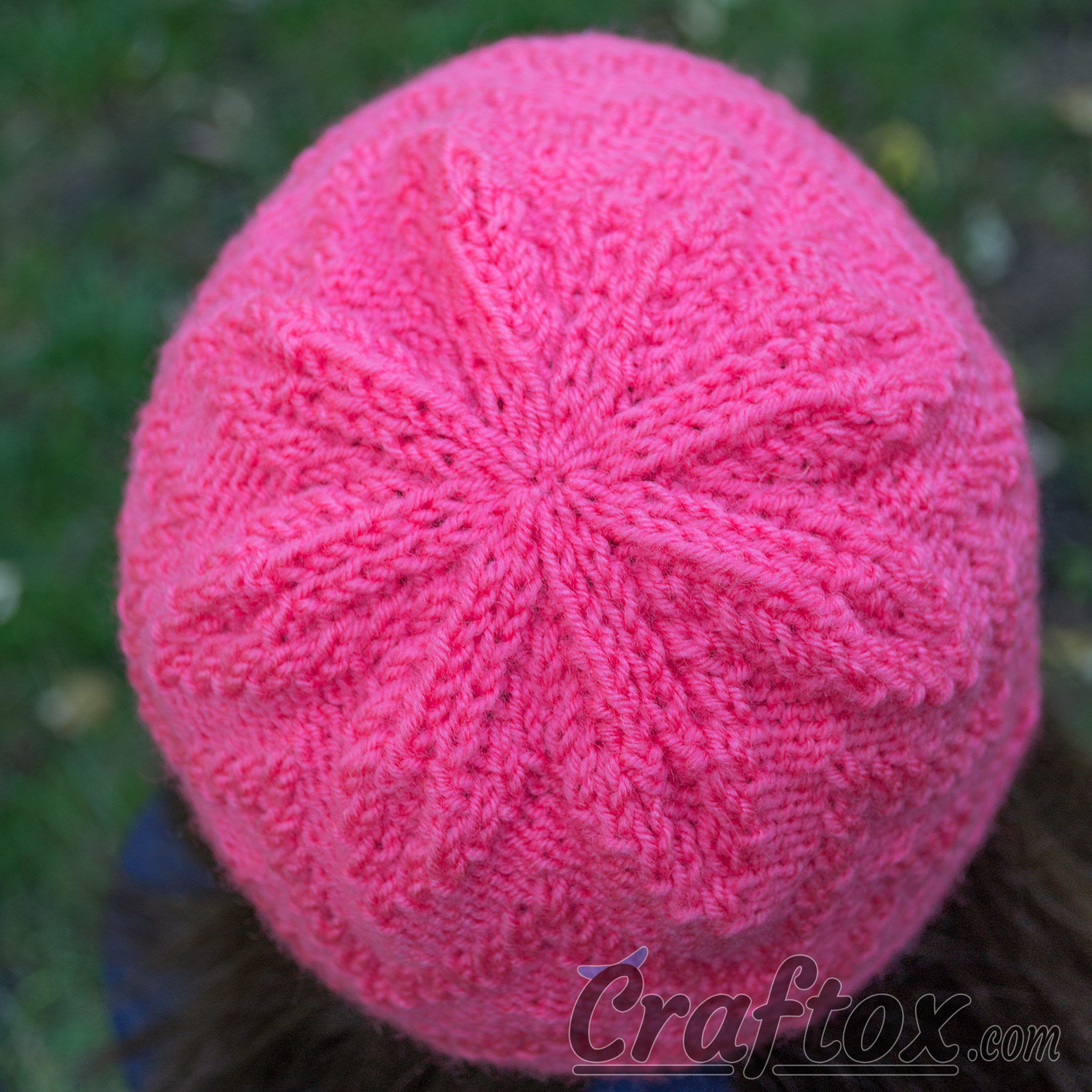 Knit Zig Zag Hat Pattern : Quot zigzag beanie quick and simple free zig zag hat