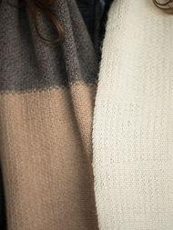 Adults and teen long cowl Morgan. Free knitting pattern. 3