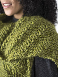 Adults and teens scarf Kallik. Free written pattern (textured). 3