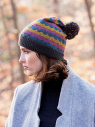 Adults colorful beanie hat Giedi. 2