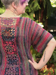 Adults crochet cardigan Maier. 2