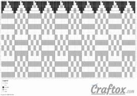 Pattern chart 1. Basic knit slouchy beanie. Free.