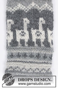 Boys and men's knit dutch heel (toe wide) Lama Rama Socks