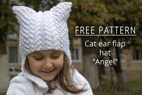 Knit earflap hat free pattern
