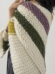 Cozy blanket Aput. Free knitting pattern. 3