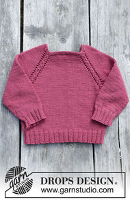 Easy girls (toddler, children) pullover Cherry Cuddler 1