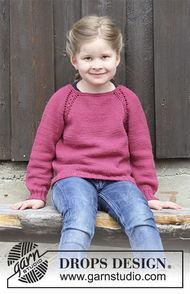 Easy girls (toddler, children) pullover Cherry Cuddler