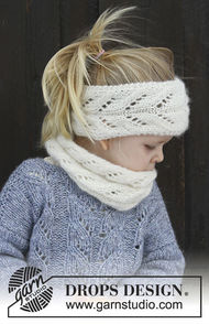 Girls (children, toddler) knit headband Eirlys