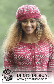 Girls (teen) and women's knit cardigan Rosendal