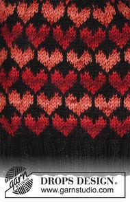 Girls (teen) and women's mittens Queen of Hearts 1
