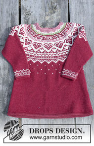 Girls (toddler, children) knit pullover Visby Tunic