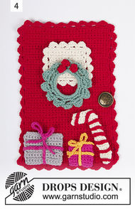 Hanging ornament Advent Calendar Doors 2