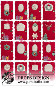 Hanging ornament Advent Calendar Doors 3