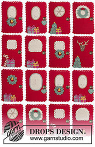 Hanging ornament Advent Calendar Doors 4