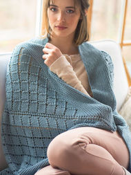 Knit blanket Cunningham. 2