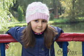 Beanie free knitting pattern