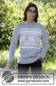 Men's and boys knit pullover Vintermys