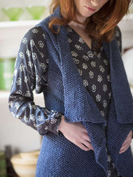 Simple women's vest Channel. Knitting pattern. 3