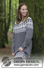 Teen and adults knit pullover Andean Caravan 1